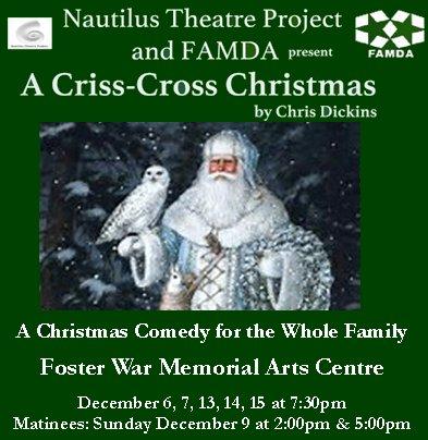 A Criss-Cross Christmas – FAMDA – Foster Arts Music & Drama