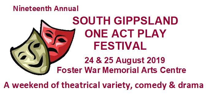 Bendigo Bank One Act Play Festival – FAMDA – Foster Arts